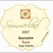 海岸情缘精选歌海娜桃红葡萄酒(Summerland Winery Collection Grenache Rose,Paso Robles,USA)