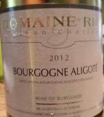 让-查尔斯·瑞阳酒庄勃艮第阿里高特白葡萄酒(Domaine Jean-Charles Rion Bourgogne Aligote, Burgundy, France)