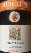 摩尔特斯灰皮诺干红葡萄酒(Moltes Pinot Gris Reserve Red,Alsace,France)