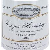 帕德勒庄园克罗兹-埃米塔日干白葡萄酒(Domaine Pradelle Crozes-Hermitage Blanc,Rhone,France)