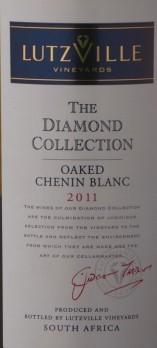 宝石钻石精选白诗南干白葡萄酒(Cape Diamond The Diamond Collection Chenin Blanc,Lutzville,...)