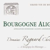 雷尼亚尔-克里斯汀阿里高特干白葡萄酒(Domaine Regnard Christian Bourgogne Aligote,Burgundy,France)