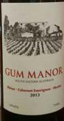 古姆庄园混酿干红葡萄酒(Gum Manor Red Blend, South Eastern Australia, Australia)