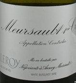 勒桦酒庄(默尔索村)干白葡萄酒(Domaine Leroy Meursault, Cote de Beaune, France)