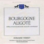 威锐勃艮第阿里高特干白葡萄酒(Domaine Verret Bourgogne Aligote,Burgundy,France)