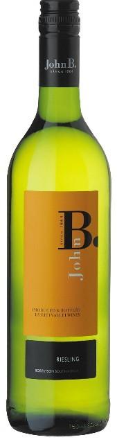 瑞特山约翰B雷司令干白葡萄酒(Rietvallei John B Riesling,Robertson,South Africa)