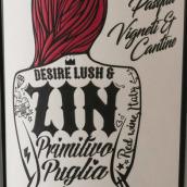 复活节酒庄欲&罪普里米蒂沃红葡萄酒(Pasqua Desire Lush&Zin Primitivo IGT,Apulia,Italy)