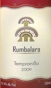 鲁巴拉拉丹魄干红葡萄酒(Rumbalara Tempranillo,Queensland,Australia)
