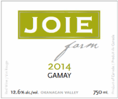 喜悦酒庄佳美干红葡萄酒(Joie Farm Gamay,Okanagan Valley,Canada)