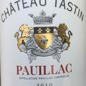 天路干红葡萄酒(Chateau Tastin,Pauillac,France)