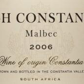 高康斯坦提亚马尔贝克干红葡萄酒(High Constantia Malbec,Constantia,South Africa)
