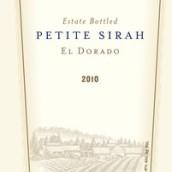 拉瓦小西拉干红葡萄酒(Lava Cap Petite Sirah,El Dorado,USA)