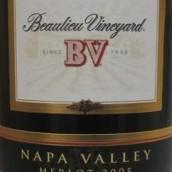 柏里欧梅洛干红葡萄酒(Beaulieu Vineyard BV Merlot,Napa Valley,USA)