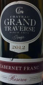 穿越酒庄珍藏品丽珠干红葡萄酒(Chateau Grand Traverse Reserve Cabernet Franc,Old Mission ...)