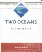 双洋黑皮诺干红葡萄酒(Two Oceans Pinot Noir,Western Cape,South Africa)