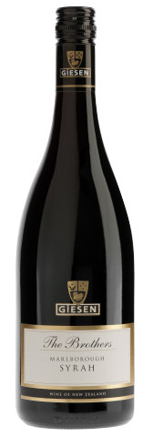 杰森兄弟系列西拉干红葡萄酒(Giesen The Brothers Shiraz,Marlborough,New Zealand)