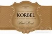 科贝尔桃红起泡酒(Korbel Brut Rose,California,USA)