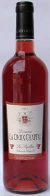 十字勋章赛吉乐桃红葡萄酒(Domaine La Croix Chaptal Sigillees Rose,Coteaux du Languedoc...)