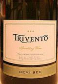 风之语半干型起泡酒(Trivento Espumantes Demi-Sec,Mendoza,Argentina)
