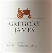 格里高利詹姆斯桃红葡萄酒(Gregory James Rose,Sonama Coast,USA)