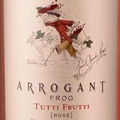 傲岸蛙酒庄果缤纷年份桃红葡萄酒(Arrogant Frog Tutti Frutti Vintage Rose,IGP Pays d'Oc,...)