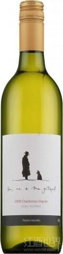 芬格富门柱系列霞多丽维欧尼干白葡萄酒(Ferngrove Vineyards You Me&the Gatepost Chardonnay-Viognier,...)