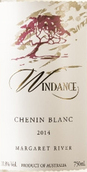 风之舞白诗南半甜白葡萄酒(Windance Estate Chenin Blanc,Margaret River,Australia)