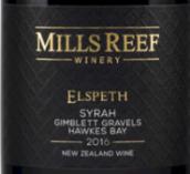 米尔瑞福伊丽莎白西拉干红葡萄酒(Mills Reef Elspeth Syrah, Hawke's Bay, New Zealand)