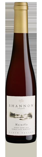 香农酒庄情人黑皮诺甜红葡萄酒(Shannon Vineyards Macushla Pinot Noir,Elgin,South Africa)