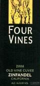 四棵葡萄树老藤特酿仙粉黛干红葡萄酒(Four Vines Old Vine Cuvee Zinfandel, California, USA)