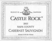 石堡赤霞珠干红葡萄酒(纳帕谷)(Castle Rock Winery Cabernet Sauvignon,Napa Valley,USA)