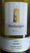 毕巴乔赛美蓉干白葡萄酒(Bimbadgen Estate Semillon, Hunter Valley, Australia)