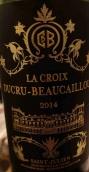 宝嘉龙城堡十字架红葡萄酒(La Croix Ducru-Beaucaillou, Saint-Julien, France)