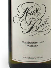 球屋琼瑶浆干白葡萄酒(House of Ball Gewurztraminer,Marlborough,New Zealand)