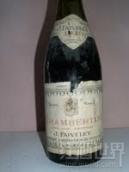 法维莱香贝丹园干红葡萄酒(Domaine Faiveley Chambertin,Cote de Nuits,France)