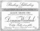 温巴赫斯伯格园雷司令粒选贵腐甜白葡萄酒(Domaine Weinbach Schlossberg Riesling Selection de Grains ...)