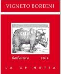 斯缤尼塔酒庄博蒂尼巴巴莱斯科红葡萄酒(La Spinetta Vigneto Bordini Barbaresco DOCG,Piedmont,Italy)