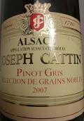 杰瑟夫卡丁粒选贵腐灰皮诺甜白葡萄酒(Joseph Cattin Selection de Grains Nobles Pinot Gris,Alsace,...)