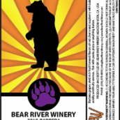 熊河巴贝拉干红葡萄酒(Bear River Barbera,Sierra Foothills,USA)