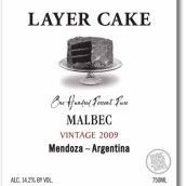 Pure Love Wines Layer Cake Malbec,Mendoza,Argentina