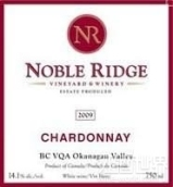 贵族岭霞多丽干白葡萄酒(Noble Ridge Vineyard&Winery Chardonnay,Okanagan Valley,...)