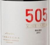 卡萨雷娜505马尔贝克红葡萄酒(Casarena 505 Vinyard Malbec, Mendoza, Argentina)