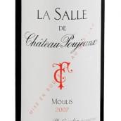 宝捷酒庄副牌干红葡萄酒(La Salle de Chateau Poujeaux,Moulis,France)