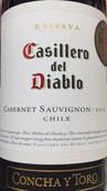 干露酒庄红魔鬼珍藏赤霞珠红葡萄酒(Concha y Toro Casillero del Diablo Reserva Cabernet Sauvignon, Central Valley, Chile)