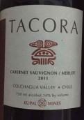 库帕酒庄塔科拉火山赤霞珠-梅洛干红葡萄酒(Kupal Wines Tacora Cabernet Sauvignon-Merlot, Colchagua Valley, Chile)