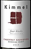 基梅尔酒庄四园珍藏赤霞珠干红葡萄酒(Kimmel Four Block Collection Cabernet Sauvignon,Mendocino ...)