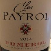 贝洛酒庄干红葡萄酒(Clos Payrol,Pomerol,France)