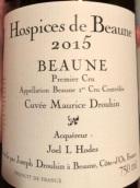 伯恩济贫院莫尼斯多喜(伯恩一级园)干红葡萄酒(Hospices de Beaune Cuvee Maurice Drouhin,  Beaune Premier Cru, France)