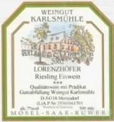 Weingut Karlsmuhle Lorenzhofer Riesling Eiswein,Mosel,...