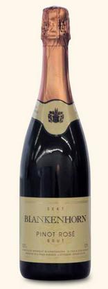 布兰肯霍恩皮诺干型桃红起泡酒(Weingut Blankenhorn Pinot Rose Brut,Baden,Germany)